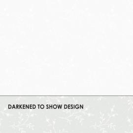 Helder witte stof met een klein takje MAS311-UW (ultra white)