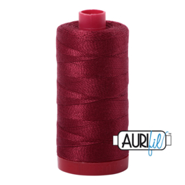 Aurifil Mako 12 2460 Dark Carmine Red