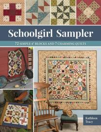 Schoolgirl Sampler by Kathleen Tracy