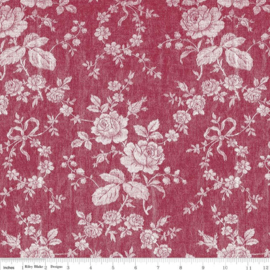 Rustic Romance C7063 dark red