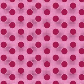 Tilda Medium Dots Maroon
