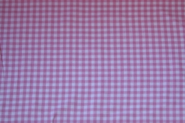 ruitstof roze 5 mm. ruit
