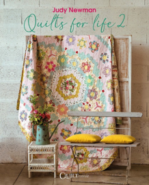 Quilts for Life 2 by Judy Newman - RESERVEER -