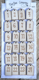 Kalender tags voor advent