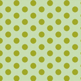 Tilda Medium Dots Green 130011