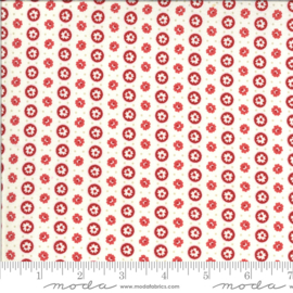 Roselyn by Minick & Simpson 14913 16 zachtwit - rood