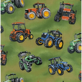 Quiltstof tractor time 89910 101