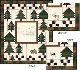 Woodland Getaway panel