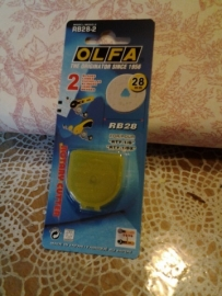 olfa reservemes 28 mm rb28