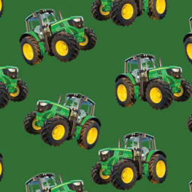 Quiltstof Farm machines met tractor 78650 104