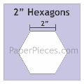 "hexagon mallen 2 "" inch"