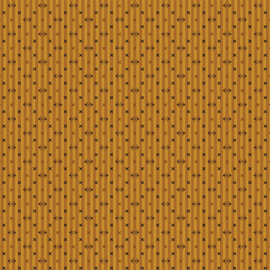 Quiltstof Modern Antiques Stripes Gold 214733