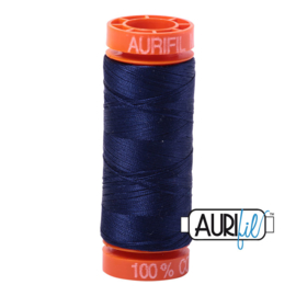 Aurifil Mako50 #2745   blauw - midnight  200 meter