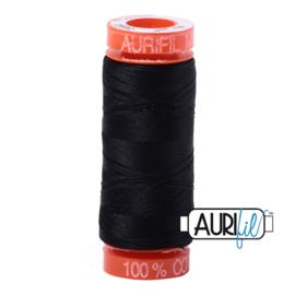 Aurifil Mako50 #2692 Black zwart - 200 meter