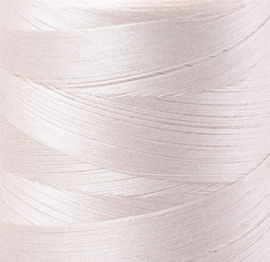 Aurifil Mako40 #2309 Silver white - 1000 meter