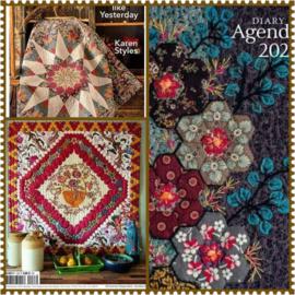 Blog...nieuwe boeken , agenda en quiltmania