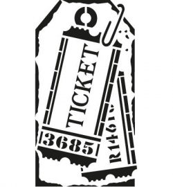 sjabloon etiket tickets