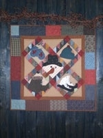 Patroon Bobbin - quilt  snow things