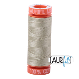 Aurifil Mako50 #5020 Light Military Green licht groen - 200 meter
