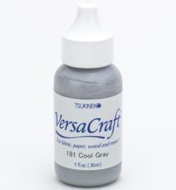 Versacraft stempelinkt navulling grijs - Cool Gray