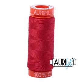 Aurifil Mako50 #2255 Red Oranje - 200 meter