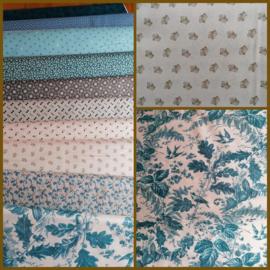 Blog...Nieuwe stoffen van Edyta Sitar - Royal Blue