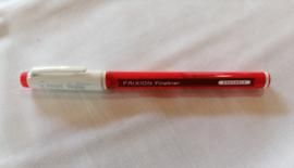 Frixion/erasable  fineliner rood