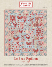 Moda Le beau Papillon by French General stofbundel