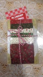 Cadeau plank met stofjes pakket kerst 2