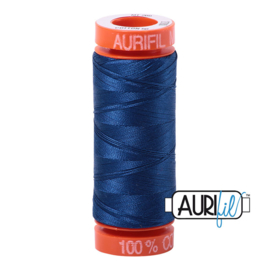 Aurifil Mako50 #2780 Delft Blue - 200 meter