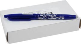 Frixion/erasable  pen blauw - verdwijnpen