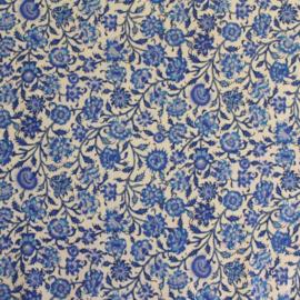 Dutch Heritage DHER 1018 CHINA BLUE - creme -blauw