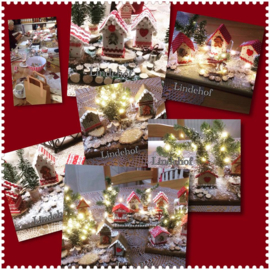 Blog..workshop mini kerstdorpje maken