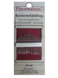 Piecemakers Between/Quilting needles 8/12