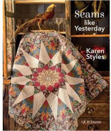 Quiltmania boek Seams like Yesterday by Karen Styles
