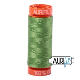 Aurifil Mako50 #1114  -Grass Green grasgroen 200 meter