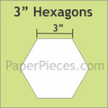 "hexagon mallen 3 ""inch"