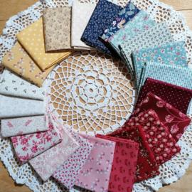 Sew Along Schoolgirl Sampler by Kathleen Tracy