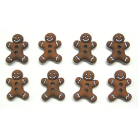 Knopen Gingerbread cookies