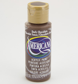 water verf dark chocolate