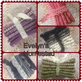 Blog...pakketjes in verschillende kleuren....