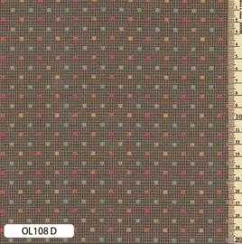 Japanse stof  OLYMPUS SAKIZOMEMOMEN STOF 108D