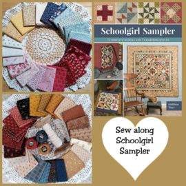 Sew Along Schoolgirl Sampler by Kathleen Tracy