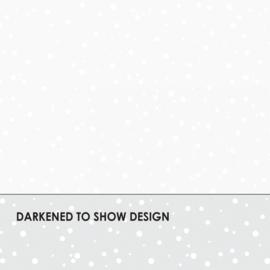 Helder witte stof met een onregelmatige stip MAS16006-UW (ultra white)