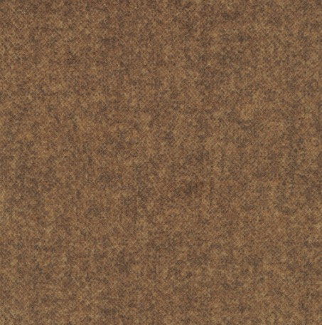 Flanel Wool Tweed Flannel bruin 18F78