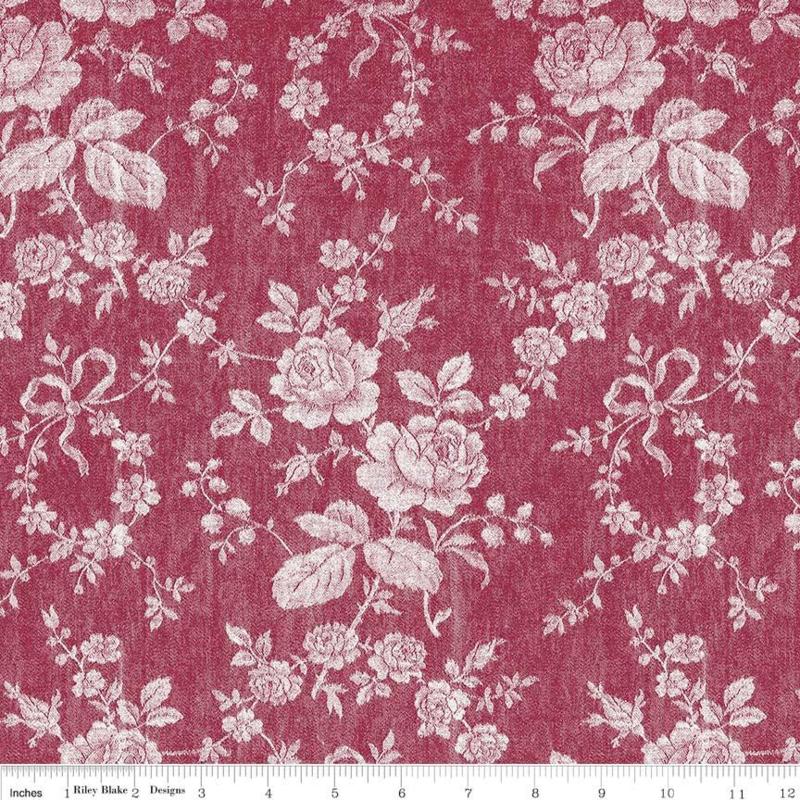 Rustic Romance C7063 dark red