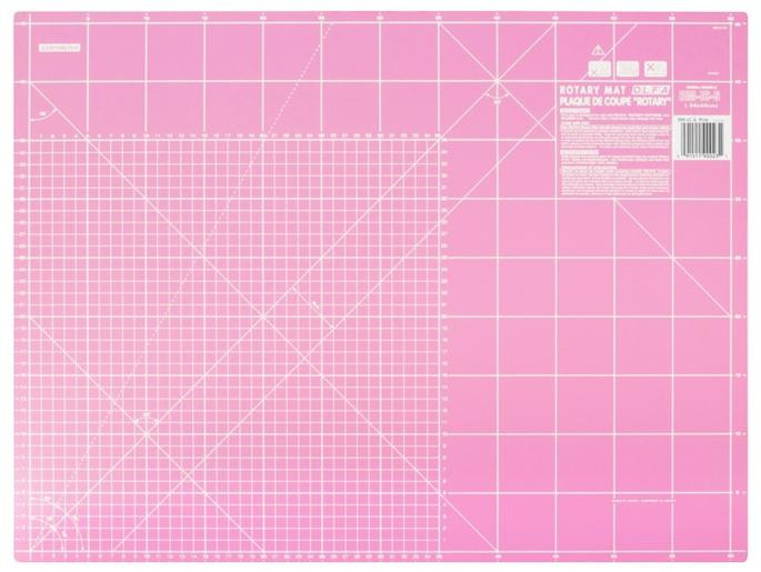 "Olfa snijmat pink 24 x 18"" - 60 x 45 cm."
