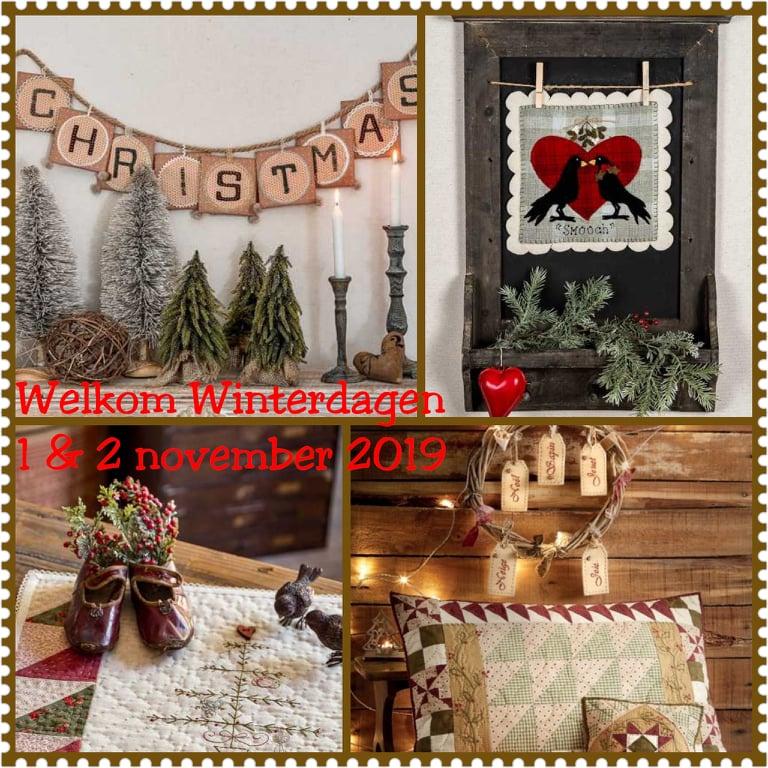 Blog...Welkom Winterdagen 1 & 2 november 2019