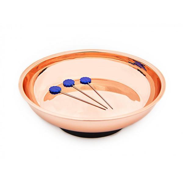 Magnetisch naalden en spelden bakje rose goud