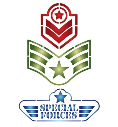 sjabloon special forces